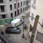 parking bloqué
