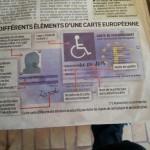 carte handicapés