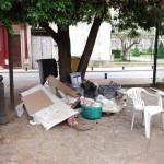 déchets sauvages bas Puteaux